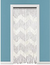 Bamboe vliegengordijn/deurgordijn 90 x 180 cm type 2 - Insectenwerende vliegengordijnen