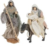 Kerststal: Holy Family Trip to Egypt: Kerst; 36 cm
