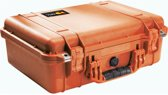 Peli 1500 Orange Foam Koffer
