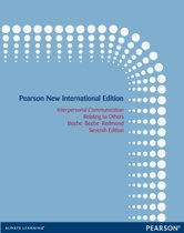 Interpersonal Communication: Pearson  International Edition