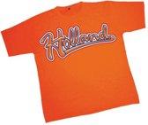 T-shirt met Holland opdruk Xl