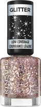 Rimmel London Glitter Bomb Special Effect Nail Colour - 019 Disco Diva - Nagellak