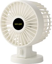 Ninzer Stille Mini Fan - Tafelventilator - Wit