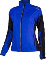 Rogelli Elvi Hardloopjack Dames Sportjas - Maat M  - Vrouwen - blauw/zwart