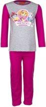 Paw Patrol pyjama maat 104 roze/grijs