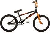Ks Cycling BMX-fiets 20'' freestyle-BMX Circles in zwart-oranje - 28 cm
