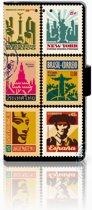 Sony Xperia X Performance Bookcase Postzegels