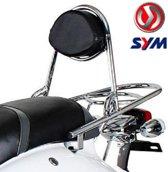 Achterdrager OEM Chroom | Sym Cello / AlloAchterdrager / bagagedrager | Wordt geleverd zonder kussen