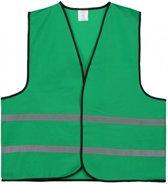 Veiligheidshesje - Veiligheidsvest - Volwassene - Groen - 1 stuk