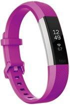 HIPFIT Siliconen bandje - Fitbit Alta (HR) - Paars - Large