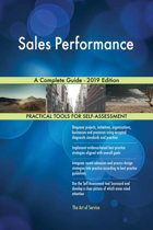 Sales Performance A Complete Guide - 2019 Edition