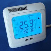 Elektrische Vloerverwarming WebHeat Control Smart Touch (inbouw touch klokthermostaat)