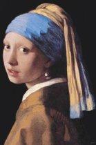 Meisje van Johannes Vermeer-Poster-Kunst-artprint-Meisje met de Parel-30x40cm.