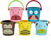 Skip Hop Zoo Stapelemmertjes Zoo Stack & Pour Buckets