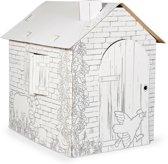 Cardboard house  small foot
