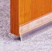 Anti-wind tochtstrip - Nooit meer tocht in je huis! - 1 meter - Isolatiemateriaal - Tochtwering strips - Tocht isolatie strip - Brievenbus - Deuren - Woonaccessoires - Sealing strip - Deurstrip