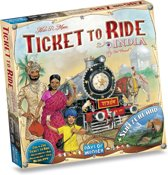 Ticket to Ride India/Zwitserland - Bordspel