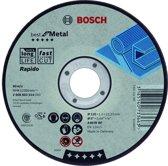 Doorslijpschijf gebogen Best for Metal - Rapido A 60 W BF, 125 mm, 22,23 mm, 1,0 mm 1st