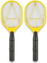 Premium Elektrische Vliegenmepper set 2 stuks Elektronische hand Vliegenvanger – 42x16cm | Wespen Vanger | Muggen Vanger | Insecten en Ongediertebestrijding