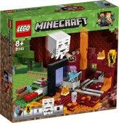 LEGO Minecraft Het Onderwereldportaal - 21143