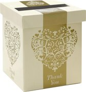Enveloppendoos Vintage Romance goud & ivory