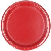 Rode borden 8 stuks