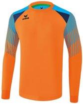 Erima Elemental Keepers  Sportshirt performance - Maat 152  - Unisex - oranje/blauw/navy