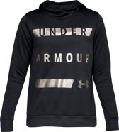 Under Armour Synthetic Fleece Pullover Wm Sporttrui Dames - Zwart - Maat M