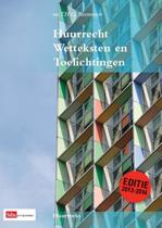 Huurrecht wetteksten en toelichtingen / 2013-2014