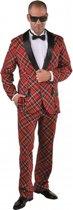Kostuum Schotse ruit voor heren 64-66 (2xl)