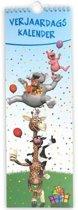 Verjaardagskalender Lol - Geen jaartal - Ophangbaar - Diverse Kleuren  - 13 x 39,5 x 0,6 cm