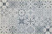 Binnenmat -Tegels Spaanse tegels grijs - Deurmat -