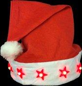 Kerstmuts LED, kerstmis, santa hat LED, lichtgevende basic kerstmuts - 252 stuks
