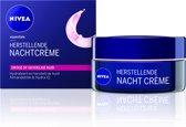 NIVEA Essentials Herstellend Droge of Gevoelige Huid Nachtcrème - 50 ml