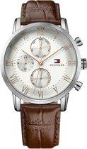 Tommy Hilfiger TH1791400 horloge heren - bruin - edelstaal