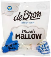 De Bron - Lifestyle Candy Suikervrije Marsh Mallows