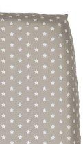 Cottonbaby Sterretjes - Hoeslaken Wieg 40x80 cm - Zand