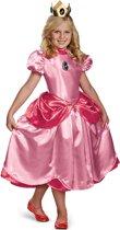 Deluxe pak van Prinses Peach™ voor meisjes  - Kinderkostuums - 152/158