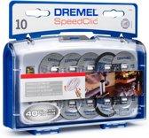 Dremel SC690 SpeedClic accessoireset Snijset voor te snijden 10 stuks Met opspandoorn