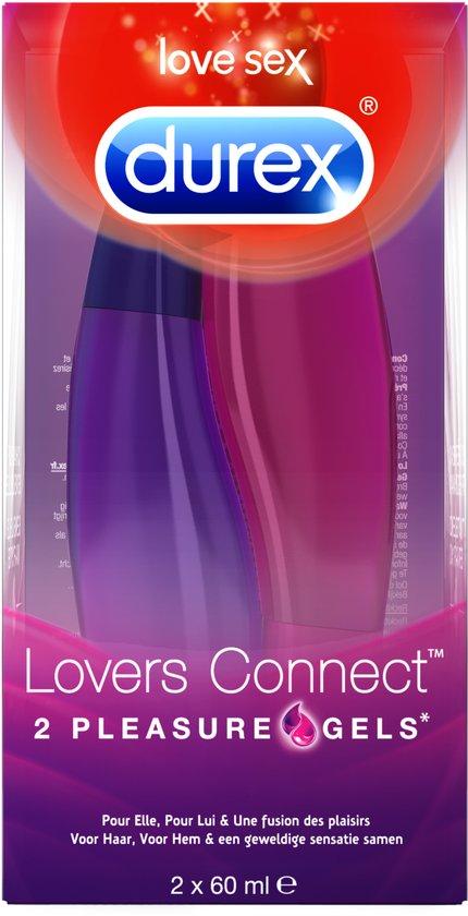 Durex Pleasure Gels Lovers Connect - 2 x 60 ml