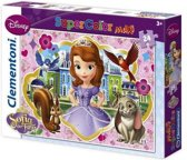 DISNEY SOFIA SUPER COLOR MAXI PUZZEL 24 DELIG