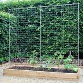 XXL modulaire houten plantenbak van duurzaam larikshout | L 210 x B 57 x H 25 cm