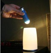 Hofftech LED Tafellamp met uitneembare zaklamp - 2 in 1 nachtverlichting