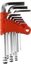 Werckmann 9 Delige Gereedschap Inbussleutelset – 1,5 mm t/m 10 mm | Klussen en Repareren | Reparatie en Onderhoud