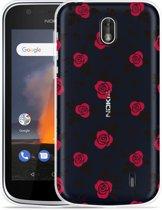 Nokia 1 Hoesje Roses