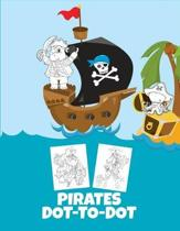 Pirates Dot-To-Dot: Puzzle Book for Kids Ages 6-8 and 8-12, Fun Connect the Dots Puzzles Book for Children, Birthday Gift, Christmas Gift