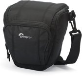Lowepro Toploader Zoom 45 AW II Black |  cameratas incl. All weather regenhoes