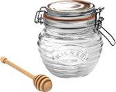 Kilner Honingpot - Met Houten Lepel - 0,4l