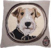 In The Mood Sierkussen Napoleon - 45x45 cm - Fox Terrier