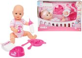 New Born Baby Bedtijd Set